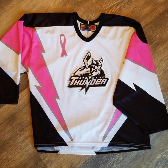 on sale 7171c f6d32 Unisex Stockton Thunder Hockey Jersey